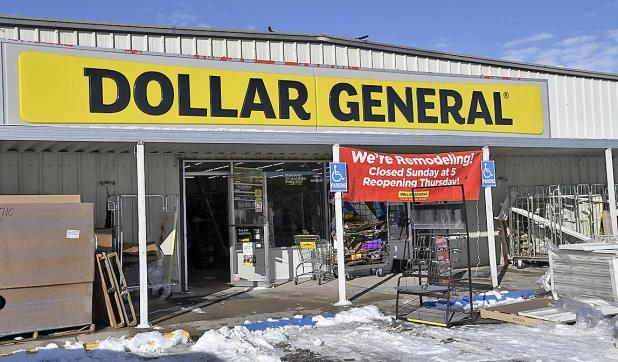 facelift at dollar general to be finished thursday imperial republican